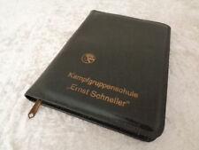 DDR - Ernst Schneller Kampfgruppenschule Gera - Mappe