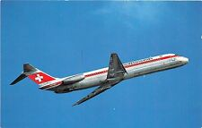 B57220 airplains avions Swissair McDonnel Douglas