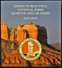 America's National Parks Quarter Series - Folder