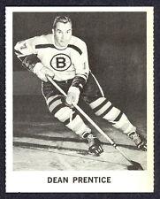 1965 COCA-COLA COKE DEAN PRENTICE EX-NM BOSTON BRUINS  HOCKEY CARD
