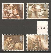 COMMEMS - CF18- 1985 - ARTHURIAN LEGENDS - FINE USED SET