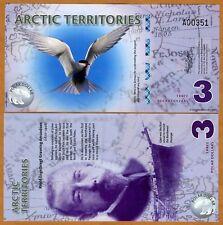 Arctic Territories, $3, 2011, Polymer, UNC > Tern