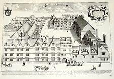 Exeter College Oxford David Loggan Print