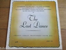 VARIOUS - THE LAST DANCE - LP/RECORD - EMI - EMTV 20 - UK - 1980 - ORANGE SLEEVE