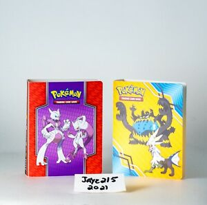 2 Pokemon Mewtwo Mini Card Binder