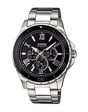 Casio Watch * MTD1075D-1A1 Black Dial Silver Stainless Steel COD PayPal