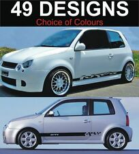 volkswagen lupo side stripe decals vw lupo stickers 2 off