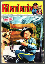 MENSUEL RINTINTIN ET RUSTY n°103 ¤ STAR TREK ¤ 1978 SAGEDITION