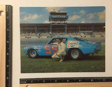 Rare Vintage NASCAR Tiny Lund 1970 Camaro 55 Pepsi 5x7 Ronnie Hopkins Owner