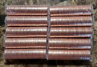 Canada 2011 Non-Magnetic 10 Original Mint Wrapped Penny Rolls!!