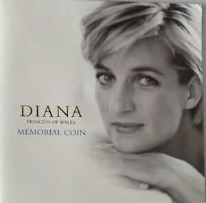 £5 Coin Set Diana Princess of Wales Memorial Coin 1999.