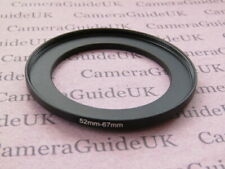 52mm-67mm 52-67 Stepping Step Up Filter Ring Adapter 52-67