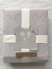 Disney MICKEY MOUSE Grey Pinsonic Duvet Cover Set DOUBLE Bedding Primark