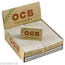 OCB Chanvre BIO - Boite de 50 Carnets - PROMO Point Relais !