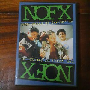 NOFX: Ten Years of Fuckin' Up (DVD, 2003)