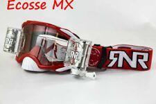 Rip - And - Roll Rnr Colossus Platino Motocross Wvs Roll Off Gafas Rojo 48MM XXL