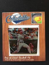Philadelphia Phillies Mike Schmidt lapel pin-Collectable Memories-2 pin set-Gift