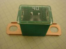 Littelfuse 0283040.H Green Male Pal Short Leg Auto/Car Fuse - 40 AMP