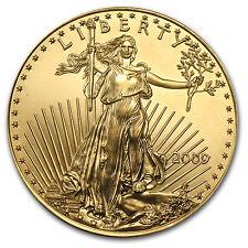 2009 1 oz Gold American Eagle Coin - Brilliant Uncirculated - SKU #48683