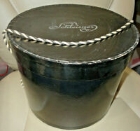 Rare Vintage 1950's Schleisner Company Department Store Hat Box with Handle