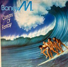 Boney M Oceans of Fantasy VINYL LP Vinyl Second Edition Hansa International 1979