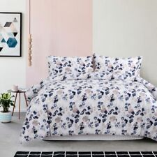 Dixie Printed Doona Quilt Cover Egyptian Cotton Set Bedding Flowers Pattern