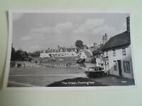 Vintage Real Photo Postcard THE GREEN, FINCHINGFIELD, Braintree, Essex