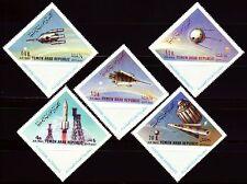 Yemen 1963 ** mi.316/20 a espacio Space viajes espaciales
