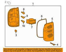 TOYOTA OEM 95-00 Tacoma-Taillight Tail Light Lamp Assy Left 8156004030