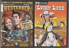 Lucky Luke + The Westerner + Bonus juego 3 Skulls of the Peroxigeno PC colección