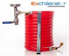 Exchilerator - Wort Chiller - Counter Flow Wort Chiller - For Home Brew Beer