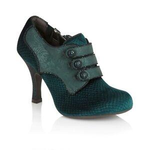 Ruby Shoo Octavia Green Mid Heel Shoe Women's