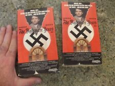 NIGHTMARE YEARS the part 1 2  nazi hitler vhs tape movie WWII world war 2 II dvd