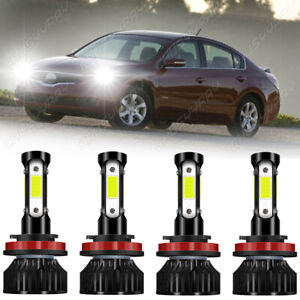 For Nissan Altima 2007-2017 2018 H9/H11+H11 Bombillas LED para faros delanteros