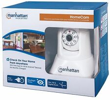 MANHATTAN 551359 Home Cam Includes HomeCam App for Mobile Phone, Connects WIFI