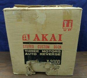 Vintage Akai X-200D Stereo Reel To Reel Player
