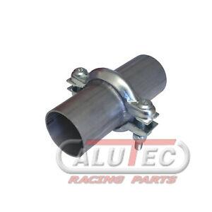 Universal Reparatur Flansch 60mm Auspuff Rohr, französischer Rohrverbinder