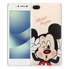 Cubierta De Silicona TPU Ultra Fina Mickey Mouse para Asus Zenfone 4 Max ZC520KL