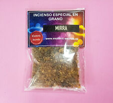 Incienso MIRRA En Grano 30gr, 100% Natural / MYRRH Incense In Grain