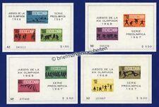 Postfrische Briefmarken aus Nordamerika mit Motiven von den Olympischen Spielen