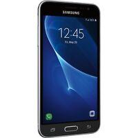 Samsung Galaxy J3 (2016) SM-J320F -8GB- Unlocked - Black - Smartphone Grade A+
