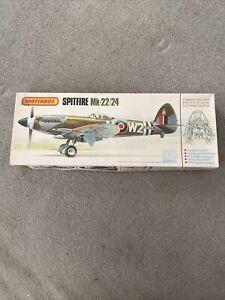 Matchbox Spitfire Mk.22/24 1:32 scale model plane kit PK 501.