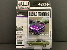Auto World Dodge Challenger RT 1970 Hemmings Muscle Machines 64272 A 1/64