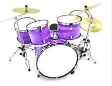 More details for miniature drum kit - best price on ebay - purple