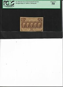 Fractional Currency Fr.1281 First Issue 25c  About New 50