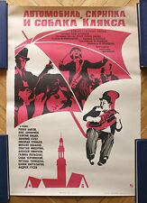 1975 Mosfilm Studio USSR Soviet Russian Movie ORIGINAL Cinema Poster