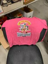 Vintage Original 1983 He-Man Master of the Universe Pink Youth M 10-12 T-Shirt
