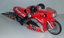 1:9th Scale Racing Champions Steven Johnson 2001 Snap On Suzuki Pro Stock Bike