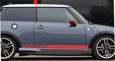 Mini Cooper Rally Turbo 2000-2015 Panel Decals Side CheckeredRocker Stripes