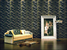 "NEUHOLZ 6m² Wall panel 3D wall panel Design wall Panel Facing ""WAVE"""